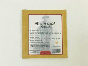 Flan Chocolat naturel