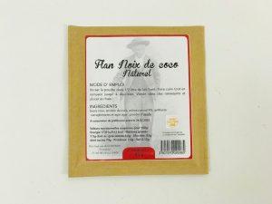 Flan Noix de coco naturel