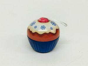 Mini Cupcake Noël bleu