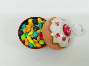 Mini Cupcake Noel rouge