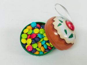 Mini Cupcake Noel vert