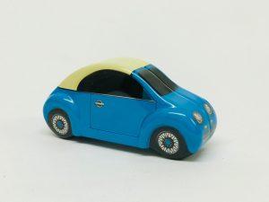 Mini voiture Bubble bleu