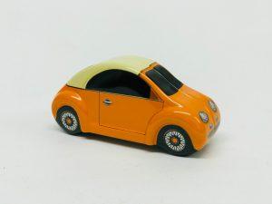 Mini voiture Bubble orange