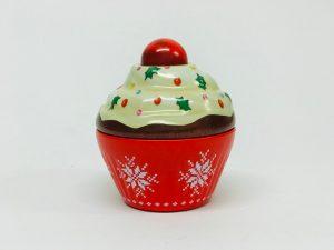 Petit Cupcake Noel rouge