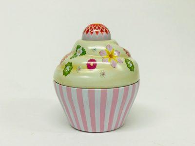 Petit Cupcake rose pâle