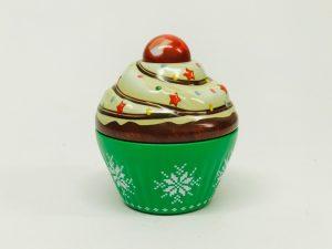 Petit Cupcake Noel vert