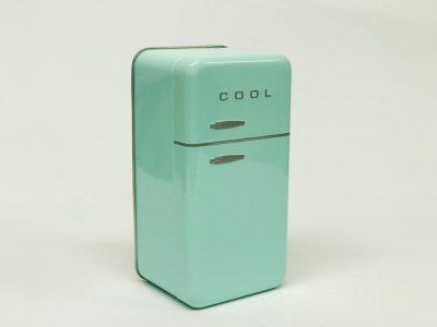 Petit frigo vert d'eau