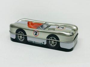 Racing car argent