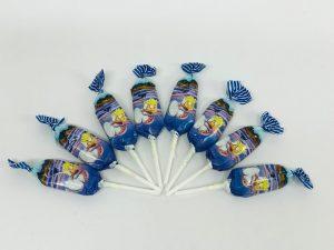 Sucettes au caramel bleu de sel