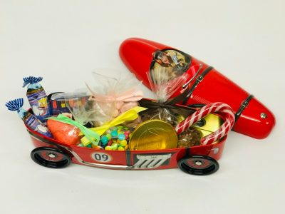 Voiture barquette rouge
